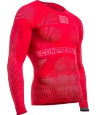 Compressport Mens ON-OFF Multisport Red Shirt