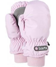 Barts 0606508-PNK-8-10 Kids Pink Nylon Mittens - 8-10 years