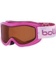 Bolle 21516 AMP Pink Snow - Citrus Dark Ski Goggles - 3-8 Years