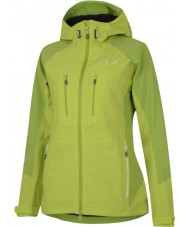 Dare2b Ladies Candor Lime Zest Waterproof Jacket