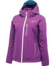 Dare2b Ladies Peltry Performance Purple Waterproof Jacket