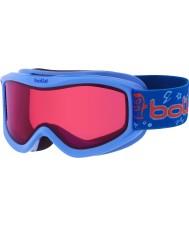 Bolle 21518 AMP Blue Monster - Vermillon Ski Goggles - 3-8 Years