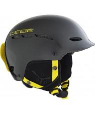 Cebe CBH56 Dusk Rental Black Red Ski Helmet - 52-55cm