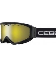 Cebe CBG67 Infinity OTG Black - Yellow Flash Mirror Ski Goggles