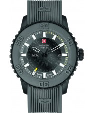 Swiss Military 6-4281-27-007-30 Mens Twilight Grey Silicone Strap Watch