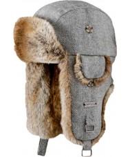 Barts 0126002 Kamikaze Grey Herringbone Hat