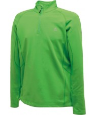 Dare2b Mens Fuseline II Green Core Stretch Midlayer