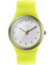 Braun BN0111WHGRL Ladies Sports Green Silicone Strap Watch