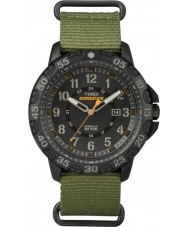 Timex TW4B03600 Mens Expedition Gallatin Green Nylon Strap Watch