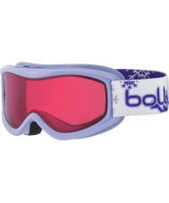 Bolle 21521 AMP Purple Snow - Vermillon Ski Goggles - 3-8 Years