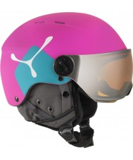 Cebe CBH211 Fireball Jr Pink Ski Helmet - 49-54cm