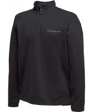 Dare2b Mens Fuseline II Black Core Stretch Midlayer