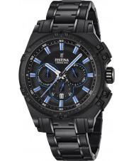Festina F16969-2 Mens Chrono Bike Black Steel Chronograph Watch