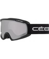 Cebe CBG98 Fanatic M Black - Light Rose Flash Mirror Ski Goggles