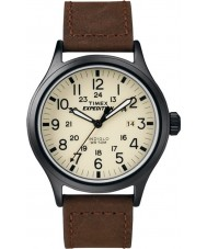 Timex T49963 Mens Expedition Scout Brown Watch