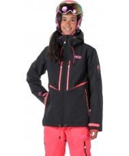 Picture WVT068-BLANP-XS Ladies Exa Black Neon Pink Jacket - Size XS