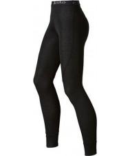 Odlo 150541-15000-M Ladies Trend Black Long John Baselayers Pants - Size M (14)