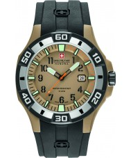 Swiss Military 6-4292-24-024-07 Mens Bermuda Black Silicone Strap Watch