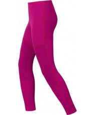 Odlo 10419-32200-104 Kids Violet Pink Baselayer Pants - 10 years (140 cm)