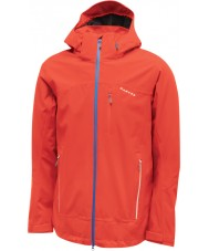 Dare2b Mens Occlude Fiery Red Waterproof Jacket