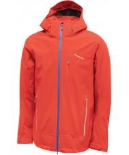 Dare2b Mens Occlude Fiery Red Waterproof Jacket