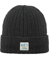 Barts 1388001 Mens Parker Black Beanie
