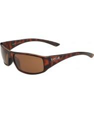 Bolle Weaver Shiny Tortoiseshell Polarized A-14 Sunglasses