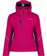 Dare2b DWP334-2KM14L Ladies Etched Lines Duchess Jacket - Size 14 (L)