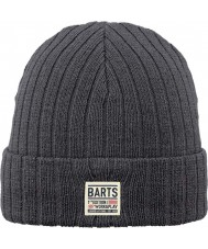 Barts 1388021 Mens Parker Charcoal Beanie