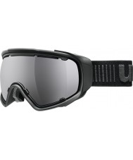 Uvex 5504322026 Jakk Spheric Black - Black Mirror Ski Goggles