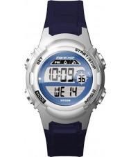 Timex TW5M11200 Ladies Marathon Blue Resin Strap Watch