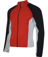 Dare2b Mens Enshroud Fiery Red Windshell
