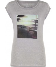 Dare2b Ladies Restful Ash Grey Marl T-Shirt
