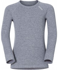 Odlo Kids Grey Melange Baselayer Top