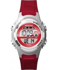 Timex TW5M11300 Ladies Marathon Red Resin Strap Watch