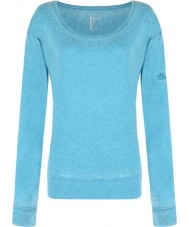 Dare2b Ladies Unwind Enamel Blue Long Sleeve Top