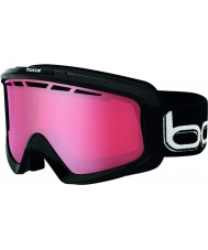 Bolle 21333 Nova II Shiny Black - Polarized Vermillon Ski Goggles