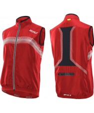 2XU Mens Neon Red Microclimate Reflector Vest
