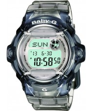 Casio BG-169R-8ER Ladies Baby-G Telememo 25 Grey Digital Watch