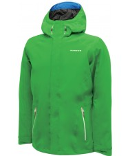 Dare2b Mens Provision Green Waterproof Jacket