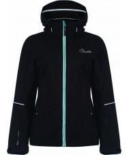 Dare2b DWP345-80016L Ladies Invoke Black Jacket - Size 16 (XL)