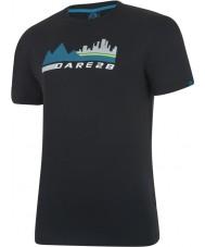 Dare2b Mens City Scene Black T-Shirt