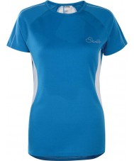 Dare2b DWT336-5NN12L Ladies Reform Methyl Blue T-Shirt - Size UK 12 (M)