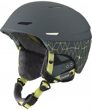 Bolle Millenium Soft Grey and Yellow Iceberg Ski Helmet