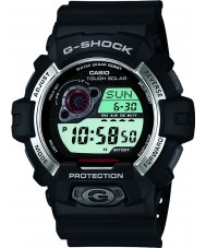 Casio GR-8900-1ER Mens G-Shock Solar Powered Black Resin Strap Watch