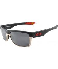 Oakley OO9189-20 Ferrari TwoFace Matte Black Sunglasses