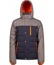 Protest Mens Finest Ground Blue Snow Jacket