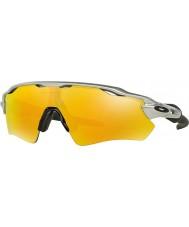 Oakley OO9208-02 Radar EV Path Silver -  Fire Iridium Sunglasses