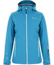 Dare2b DWP305-89H16L Ladies Work Up Mosaic Blue Ski Jacket - Size UK 16 (XL)