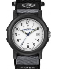 Timex T49713 Mens White Black Camper Expedition Watch